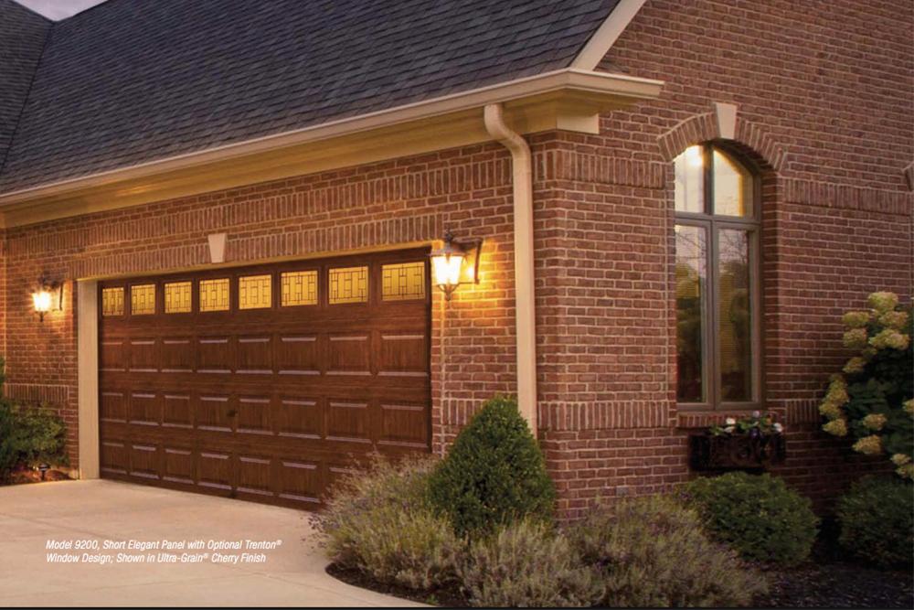 Premium Series insulated steel garage door