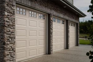 ThermoCraft garage doors with stockton windows