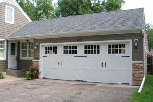 Classica garage door with windows