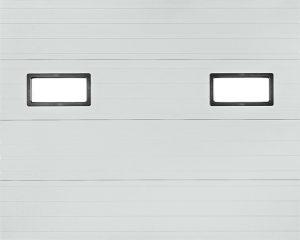 Thermodor insulated steel garage doors