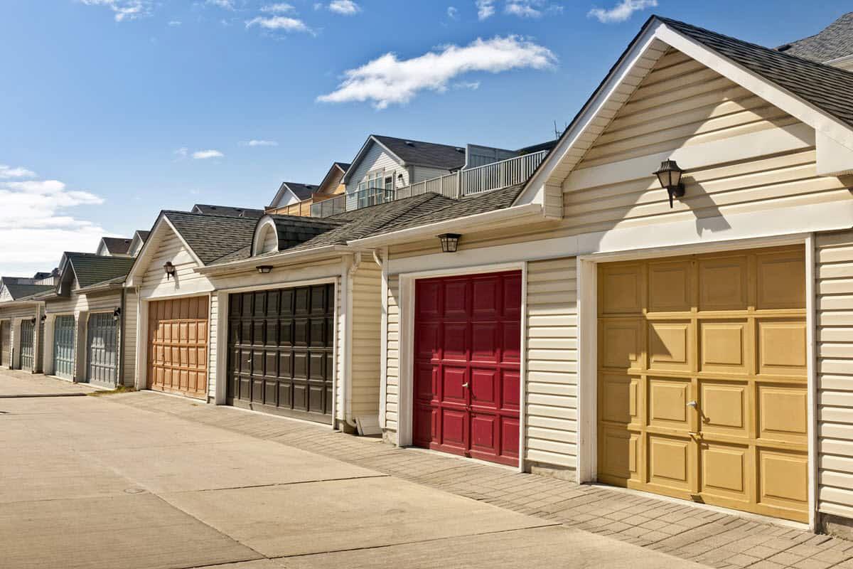 Garage Door Colours