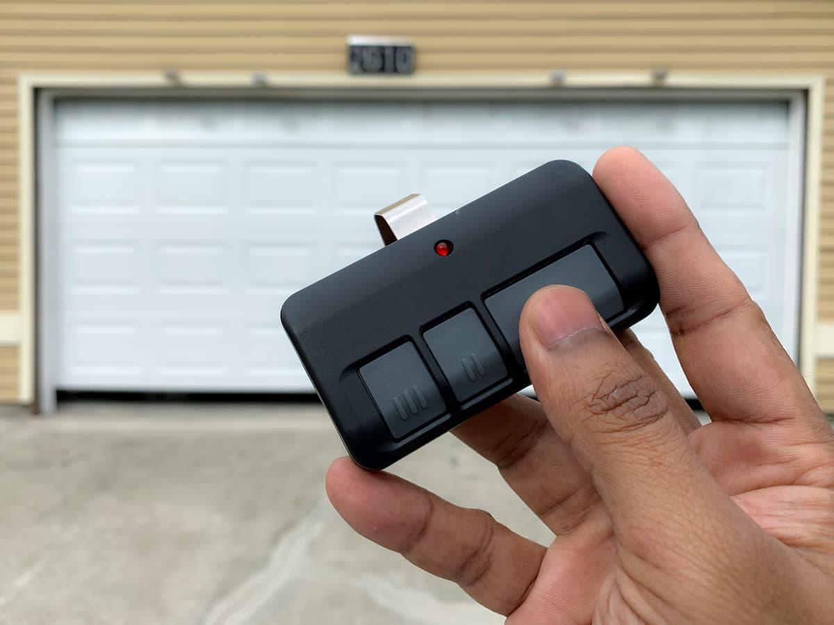 Garage remote batteries